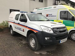 Meath Civil Defence Vehicle - Isuzu 4x4 - Ashbourne, County Meath, Ireland. (firehouse.ie) Tags: dmax meathcivildefence ireland countymeath ashbourne crewcab suv 4x4 4wd isuzu civildefence meath