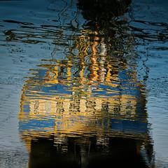 Le fantôme de l'Hermione (Paolo Pizzimenti) Tags: hermione fantôme charente sudouest france paolo olympus penf zuiko 25mm f18 film pellicule argentique reflet m43 mirrorless doisneau