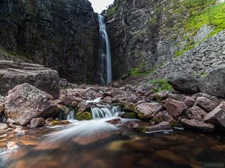 Njupeskärsfallet (Swedens highest waterfall)