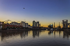There in the sky (Wal Wsg) Tags: puertomadero 7dwfsaturdayslandscapes 7dwf argentina argentinapuertomadero canoneosrebelt3i canon dia day cielo sky sunset atardecer anochecer water agua phwalwsg
