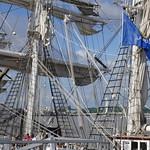 La mature du Belem, Tall Ships Regatta 2018, Bordeaux, Gironde, Nouvelle-Aquitaine, France. thumbnail