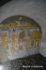 Anubis jackals (konde) Tags: khaemteri isis djed ankh 19thdynasty monochrome newkingdom deirelmedina tt220 tomb goddess anubis shenring hieroglyphs ancientegypt luxor