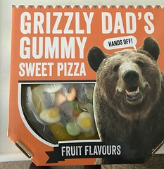 A present I received on Father's Day . (AndrewHA's) Tags: bishopsstortford hertfordshire sweets father's day present grizzly bear cardboard box