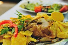lunch in Vila Verde, Braga (Gail at Large | Image Legacy) Tags: 2018 braga minho portugal vilaverde bacalhau gailatlargecom