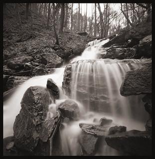 Waterfall Along the Cheat