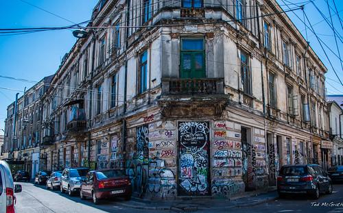 2018 - Romania - Bucharest - Graffiti +