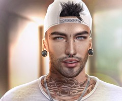 Yoshi: Client Photo (Lauryn Sage Greyson) Tags: man male men lights photography photograph photoshop photo neutral dude whoa lul bright portrait profile awesome like ya second life secondlife