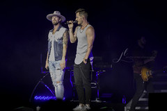 Cheyenne Frontier Days (jenniferlinneaphotography) Tags: cheyenne frontier days wyoming fair 2018 tour live concert performance outdoor outside grandstand fairgrounds grand stand evening night natural light summer country photography music musician singer florida georgia line fgl brian kelley tyler hubbard
