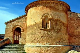 601 - Ábside - Iglesia San Martín - Rejas de San Esteban (Soria) - Spain.