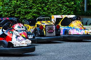 Il piccolo mondo delle corse /  The small world of racing