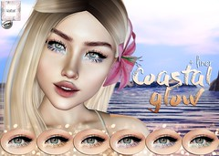 WarPaint @ Summerfest '18 (Mafalda Hienrichs) Tags: warpaint war paint summerfest summer fest event second life applier catwa makeup coastal glow glitter eyeliner eyeshadow new release