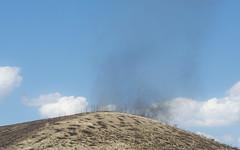 Ash Vortex (Decaseconds) Tags: nevada interstate desert america tornado vortex ash brush fire