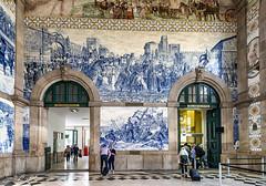 Estación de Porto-São Bento (Txantxiku) Tags: oporto saobento estacion lugares ciudades viajes