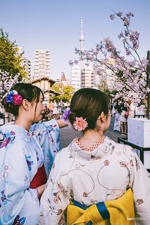 Kimonos on tour III