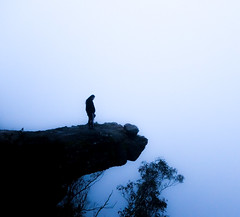 A moment gone (Nois Ullina) Tags: grampians mood moody vibes thoughts emotions blue white