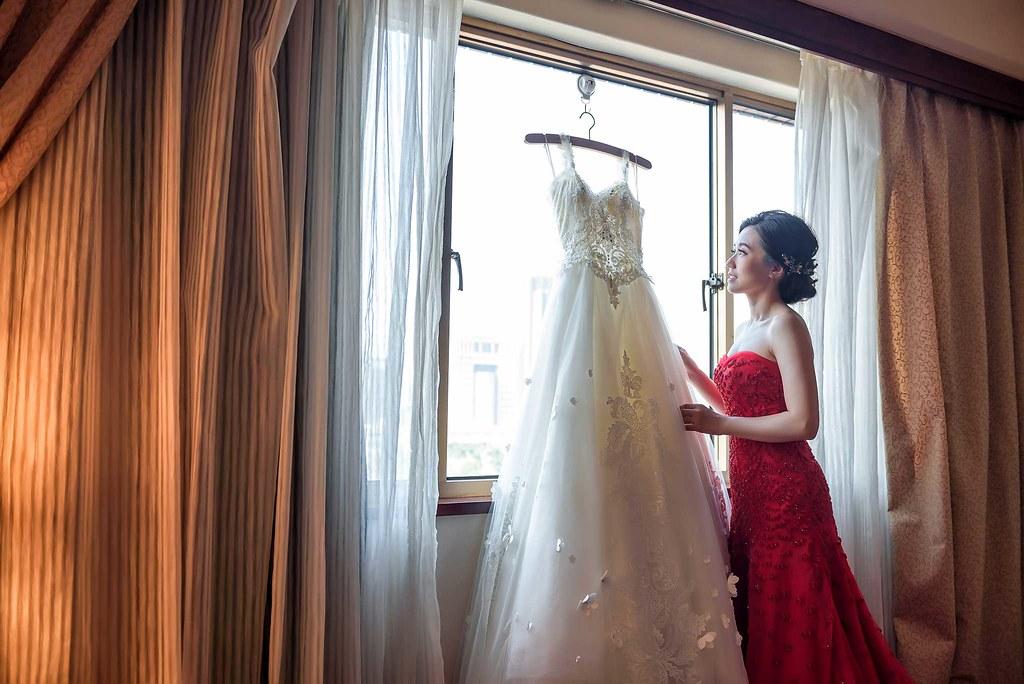 窗光 婚紗 新娘