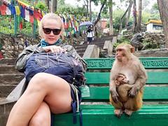 Making Friends (No Barriers USA) Tags: kathmandu centraldevelopmentregion nepal
