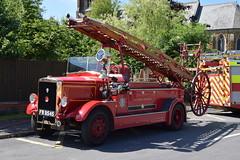 FW9545 - Leyland - Betsy (matthewleggott) Tags: lincolnshire fire rescue service engine appliance binbrook fw9545 leyland cub betsy