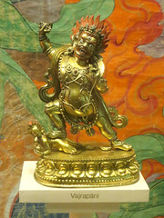 Vajrapani (edenpictures) Tags: sculpture statue figure idol figurine deity god buddhism boddhisattva americanmuseumofnaturalhistory amnh naturalhistorymuseum newyorkcity nyc manhattan upperwestside gold