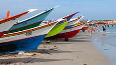 Beach life (Stig Nygaard) Tags: 2010 50d bolivarianrepublicofvenezuel canonefs1755mmf28isusm canoneos50d caribbean caribe creativecommons islademargarita islamargarita margarita margaritaisland newsparta nuevaesparta photobystignygaard puertofermíneltirano repúblicabolivarianadevenez venezuela ïslamargarita southamerica coast coastal beach sea playa seaside boats boat colorful catchycolors catchycolours colored colors colourful vibrant colours 16x9 169 beachlife cuw26 ven bolivarianrepublicofvenezuela repúblicabolivarianadevenezuela eltirano