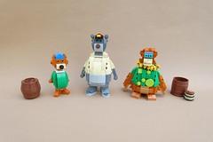 TaleSpin (-Balbo-) Tags: lego talespin baloo käptn balu käpt´n disney balbo moc bauwerk creation kit cloudkicker louie