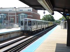 CTA Addison Brown Line Station (Mark 2400) Tags: chicago transit authority station train cta addison brown line