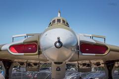 Avro Vulcan XM594 (deltic17) Tags: avro avrovulcan vulcan vulcanbomber vulcanb2bomber b2 bomber airbrakes summer sky nose nuclear aircraft jet newarkairmuseum coldwar