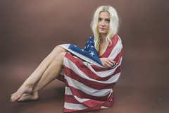 Born in the USA (Luv Duck - Thanks for 13M Views!) Tags: second julie usa usflag beautifulgirl blonde americanflag americangirl allamericangirl patriotic freedom 4thofjuly independenceday alaskangirls