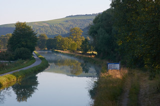 Canal du Nivernais au petit matin