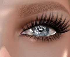 Pale-blue eye (MaisieFace) Tags: eyes holiday freedom pie secondlife sl life pale avatar avi av lesbian iris retina lashes poetry