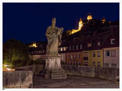 Würzburg bei Nacht P1077085 (i.f.1) Tags: jahreszeiten licht nacht ort sommer würzburg zeiten