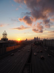 City traffic (Alexey_Summer) Tags: olympus micro43 mirrorless mft m43 moscow moscowcity russia summer sunset sky sk