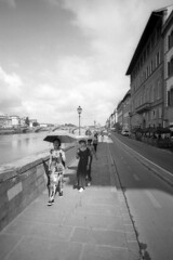 Tourists - Florence - June 2018 (cava961) Tags: florence analogue analogico monocromo monochrome bianconero bw
