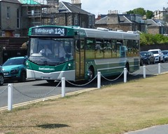 East Coast Buses 10057 at Beach Road, North Berwick (calderwoodroy) Tags: eclipseurban4 wrightbus b8rle volvo sf17vme 10057 service124 eastcoastbuses lothianbuses singledecker bus beachroad elchogreen northberwick eastlothian scotland