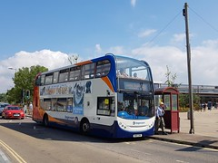 Stagecoach South West 15668 WA10GHK (DGPhotography1999) Tags: 15668 wa10ghk doubledeckerbus stagecoach stagecoachsouthwest scania seaton