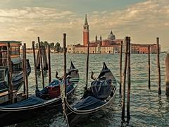 Venice (kopiecmarcin) Tags: venice wenedig water sun travel boat blue italy wenecja clouds olympus omd lumixg25