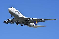 Lufthansa 747 (Average Photographer 1992) Tags: planes plane planespotting airplanes airplane aviation aviationphotography airliner aircraft lufthansa boeing787 boeing britishcolumbia britishcolumbiacanada canada 747 vancouver vancouverbc vancouverinternationalairport vancouvercanada yvr sigma150600mm skies sky blueskies nikon nikonphotographer nikonphotography nikonuser nikond7200 nikonphoto telephoto telephotolens