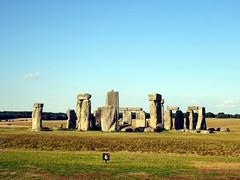 The Stonehenge audio tour (markhorrell) Tags: britain walking stonehenge wiltshire antiquities