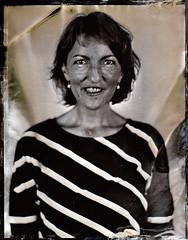 Eleanor (fitzhughfella) Tags: wetplate tintype tinplate collodion ether silvernitrate 4x5 largeformat graflexspeedgraphic kodakaeroektar