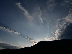 Sunrise at Teck Castle - Sonnenaufgang hinter der Burg Teck (water castle) Tags: 7dwf freetheme sunrise sonnenaufgang morninglight morgenlicht morgenwolken morningclouds morgendämmerung morgen