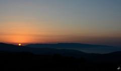 Island Silhouette (Theocharis Kalamaras) Tags: silhouette sunset tinos aegean summer sky sea sun greece cyclades hellas blue orange discovergreece visitgreece syros falatados