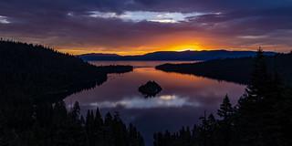 Emerald Bay Sunrise Pano - 1