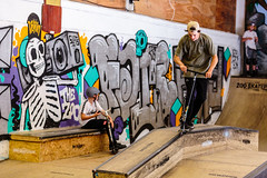 The Zoo Launch Party (chr1skendall) Tags: skate skatepark park york zoo
