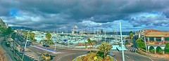 2018-07-20 13.18.57 (anyera2015) Tags: ceuta panorámica panorama noblex 135s 135 agfa agfachrome rsxii 100 noblex135s agfachromersxii100 tormenta nublado nubes caducado expired