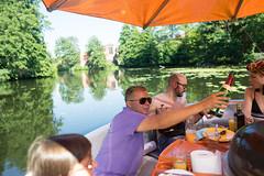 DSC03814 (Sepistö) Tags: food barbeque river germany havel boat wine alcohol sparklingwine berlin de