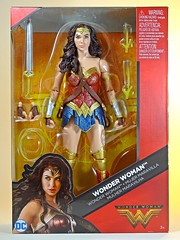 Mattel – DC Comics Multiverse – Wonder Woman – Box Art Front (My Toy Museum) Tags: mattel dc comics multiverse wonder woman action figure