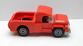 Vintage American Pickup Truck (MOC - 4K)