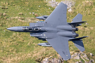 USAF F-15E, '605', LFA7, June 2018