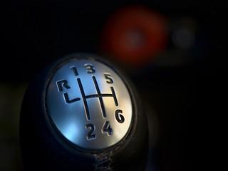 6 speed gear shift