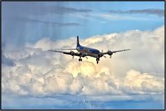 A Time Machine (Bob Garrard) Tags: n451ce everts air cargo douglas dc6a r6d1 liftmaster us navy buno 131609 n840cs anc panc